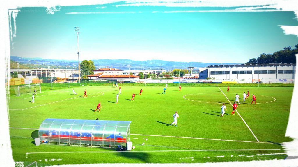 Continua la rincorsa dei Blugranata al primato Fase Di Gioco Sul Campo Dell'ambrosiana Calcio