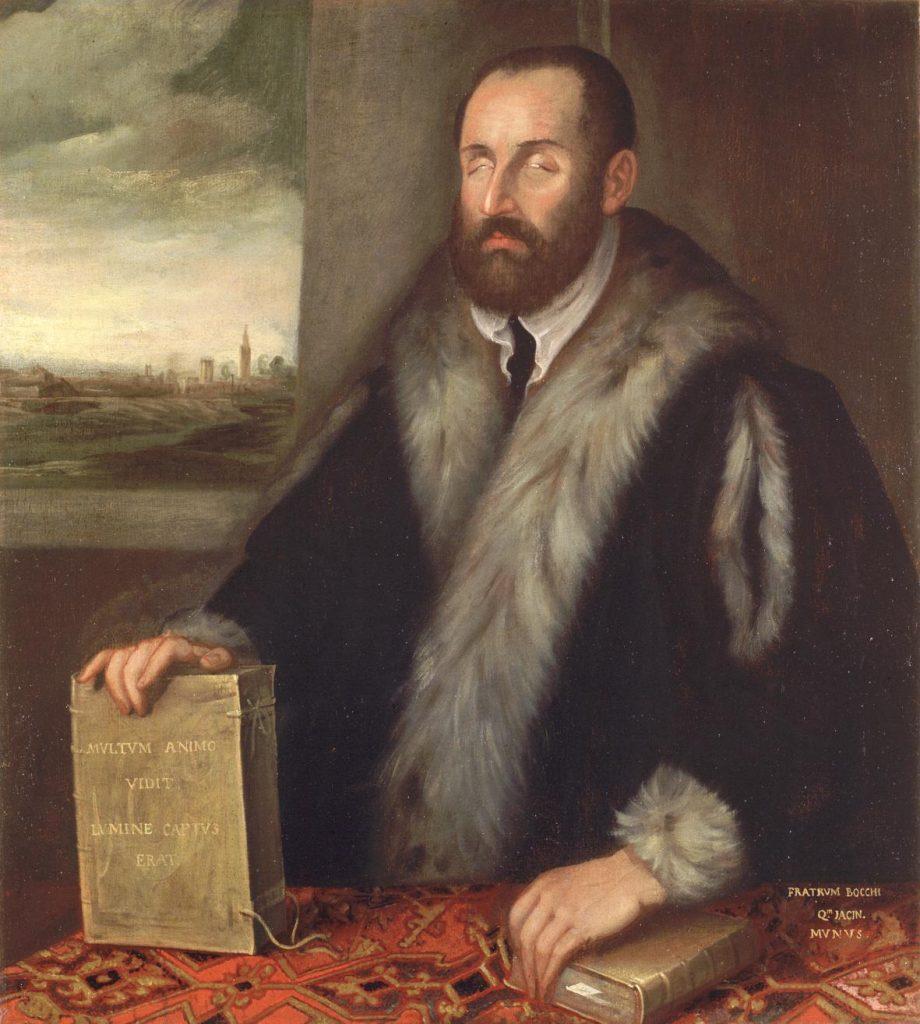 Luigi Groto - ritratto attribuito al Tintoretto