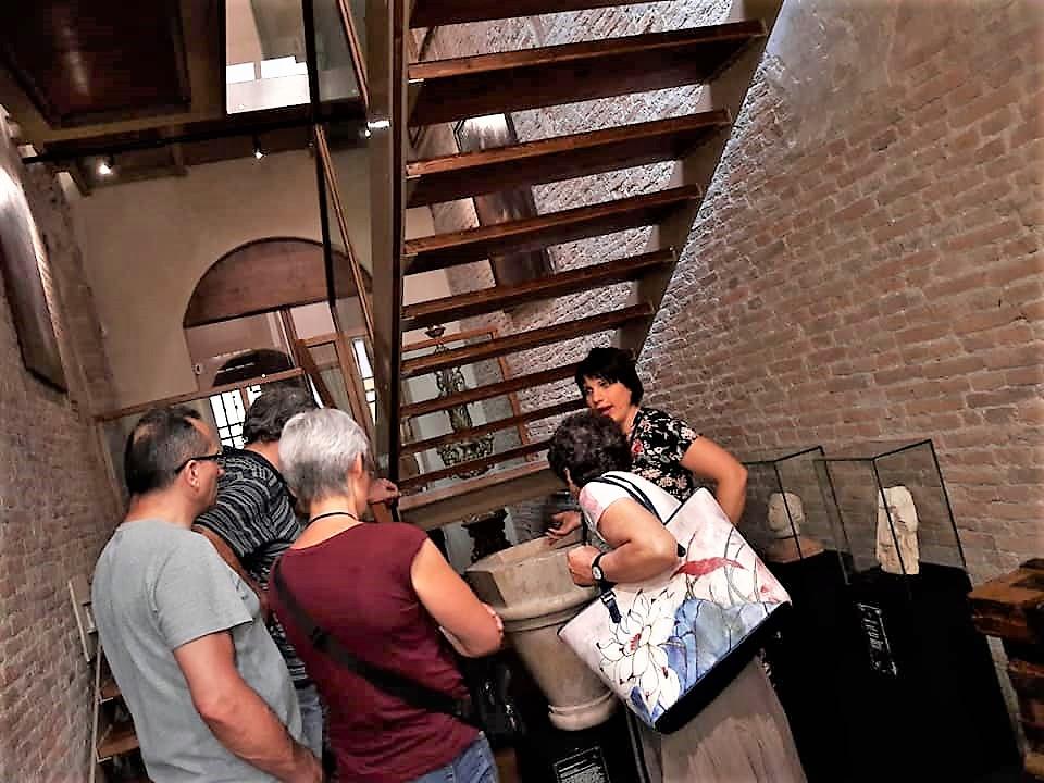 Volontari Turismo-gruppo in visita al museo della Cattedrale