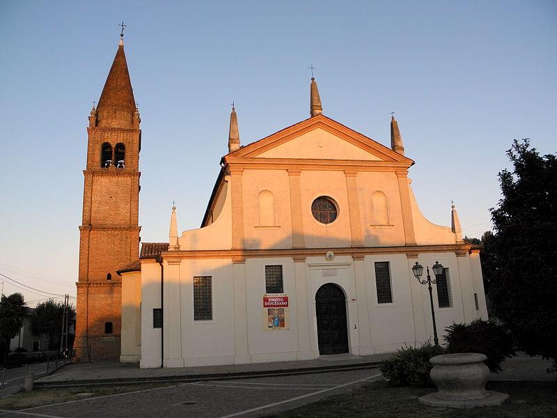 La Basilica Dedicata Al Santo A San Bellino Foto Wikipedia