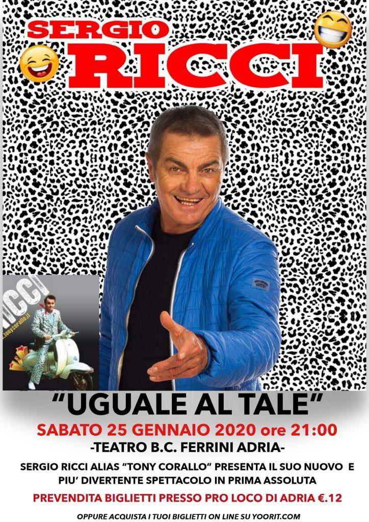 Uguale al Tale Poster Sergio Ricci Min