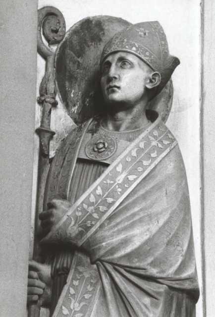 Statua Di San Bellino Del Xvi° Secolo Foto Wikipedia
