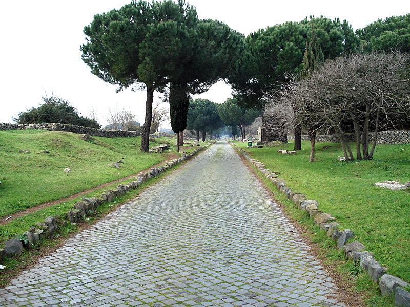 Adria e le strade romane - Strada Romana Foto Wikypedia
