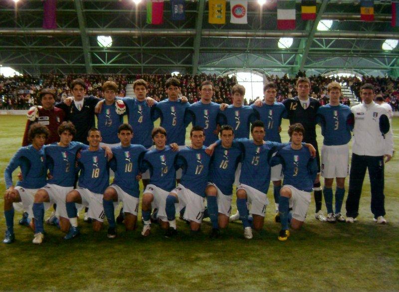 Luca Gotti Con La Nazionale Under 17 Foto Polesine Sport