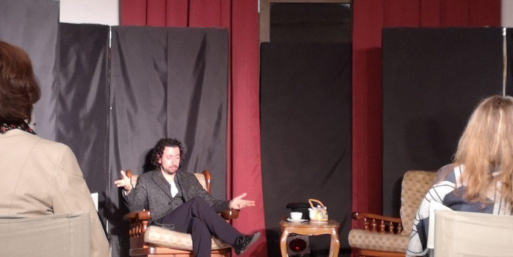 Il teatro Ferrini si tinge di giallo! Un momento di Sherlock Holmes