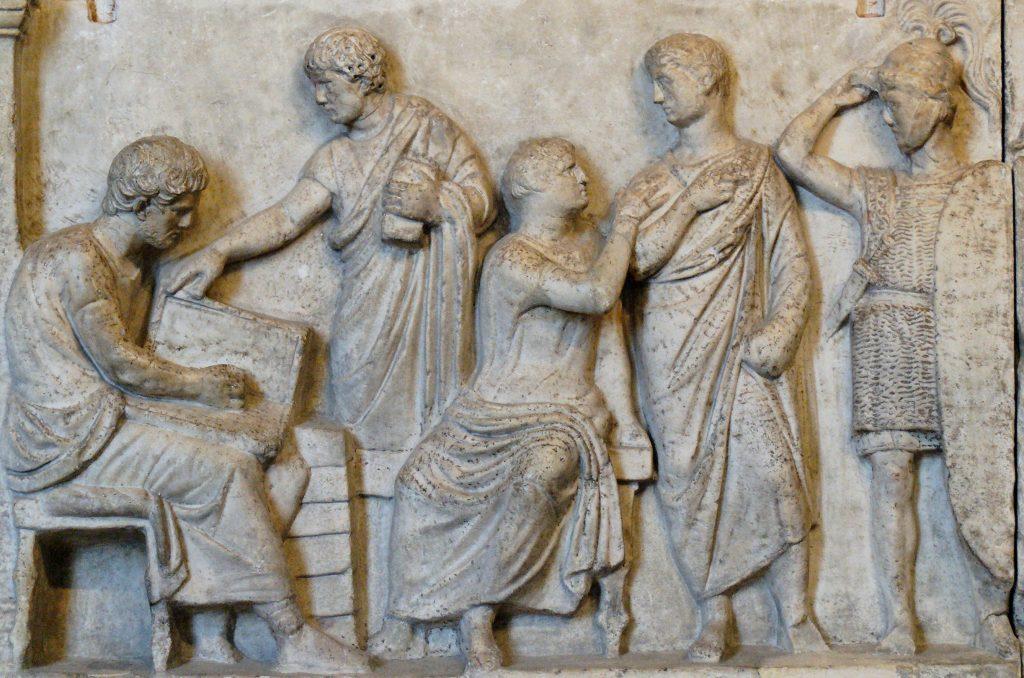 L'organizzazione del municipio di Adria - Censimento Romano - Foto Wikipedia