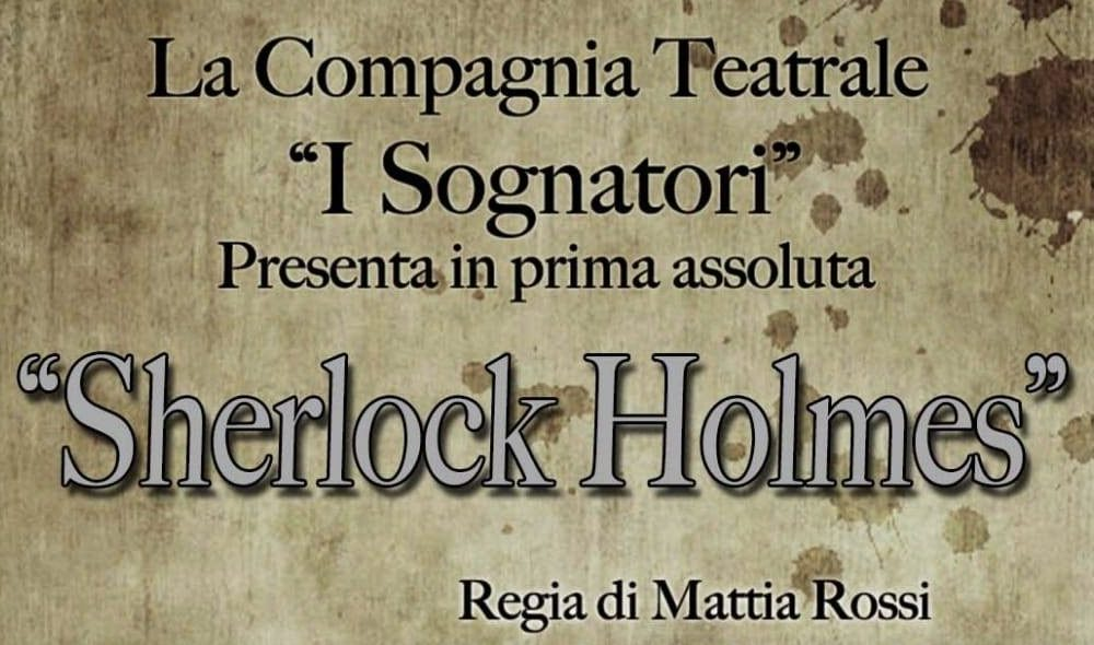 Manifesto Sherlock Holmes