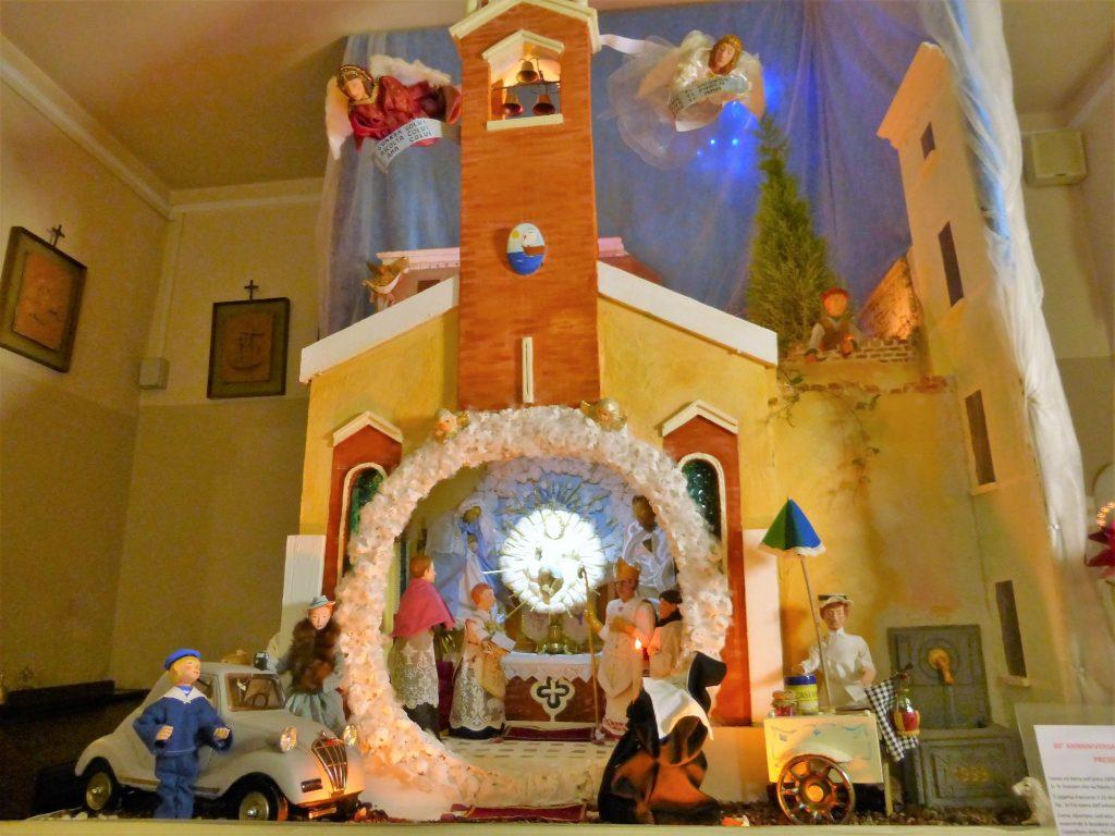 presepe della Chiesa di Sant'andrea