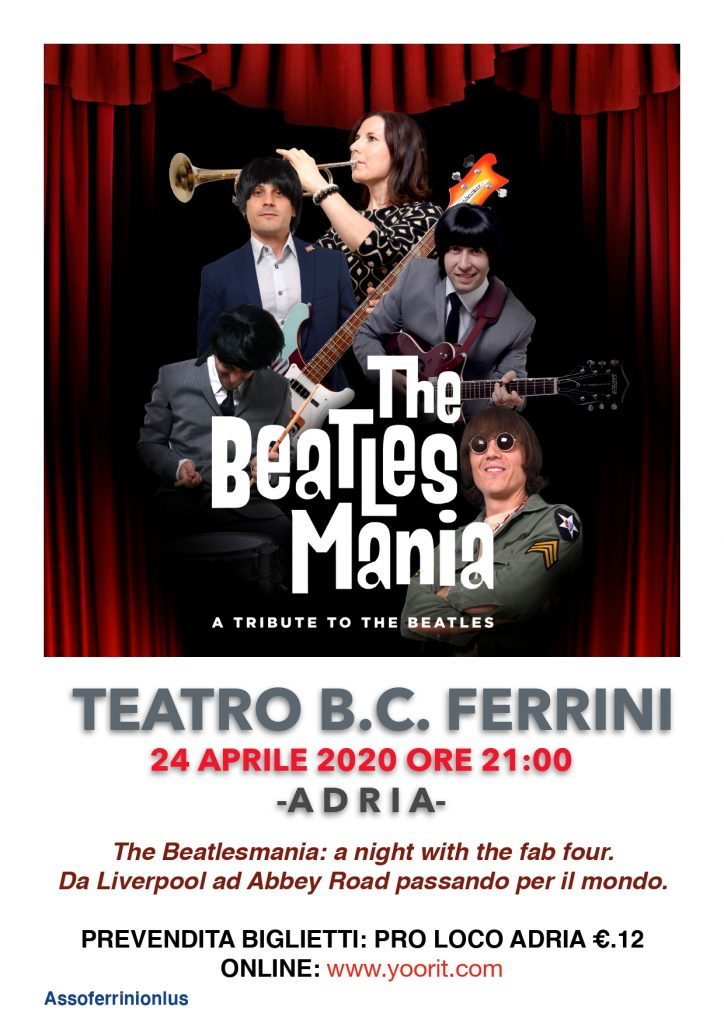Assoferrini ONLUS Locandina The Beatles Page 0001