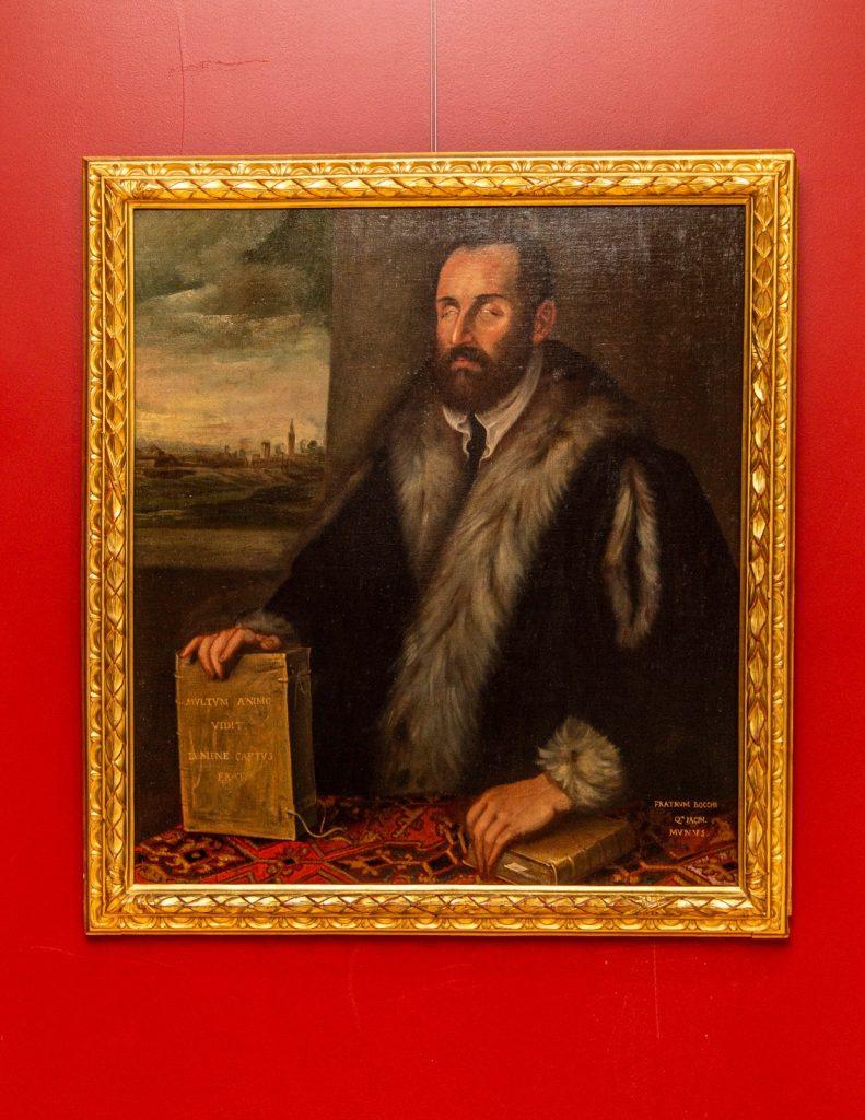 Il Cieco Dadria Del Tintoretto