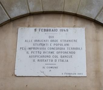 Targa Commemorativa A Padova Città