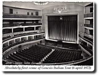 Il Teatro Comunale Nel1972