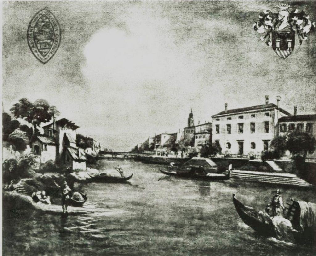Epidemia - panorama di Adria di alcuni secoli fa