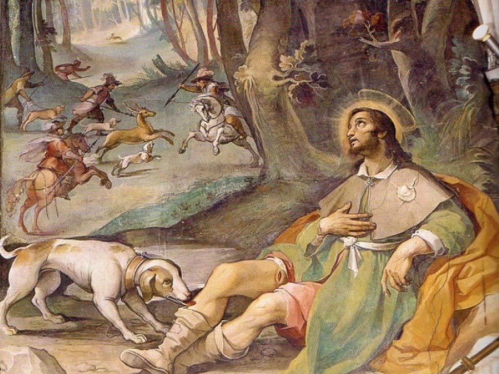 Epidemia - immagine di San Rocco