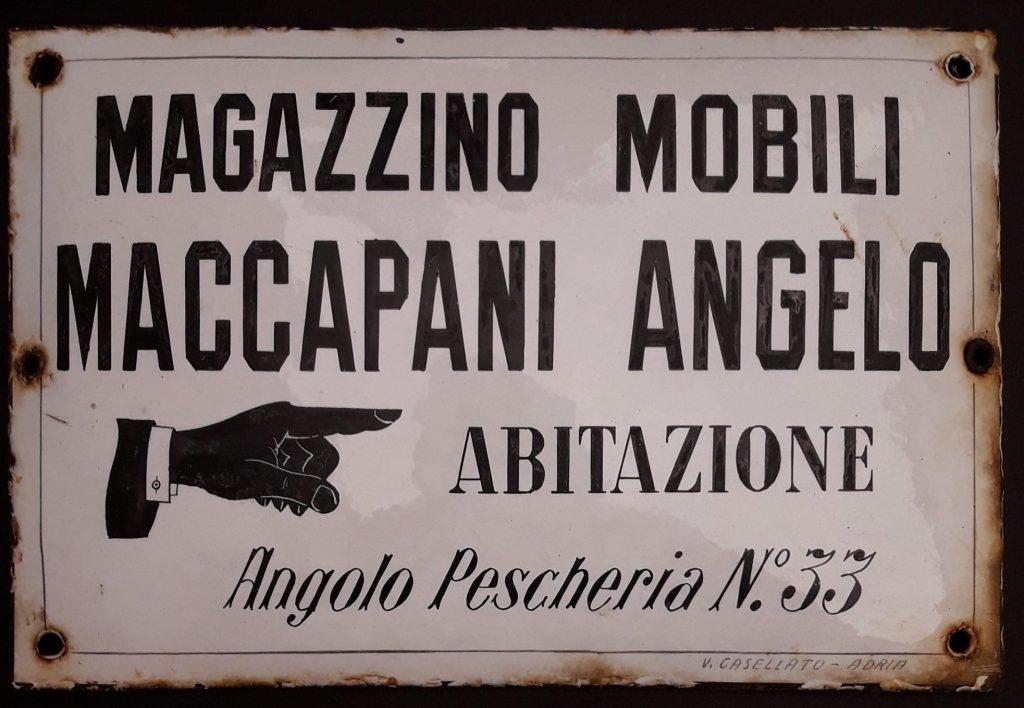 Artigianato del mobile Adriese Antica Targa