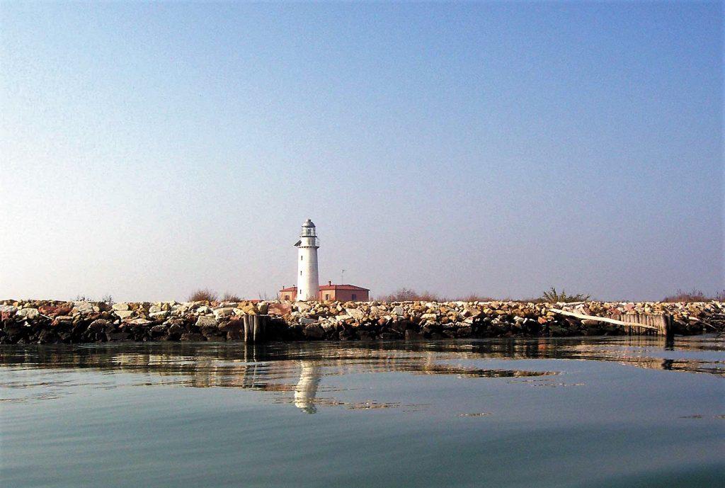 Spiagge Del Delta Del Po Faro Del Bacucco