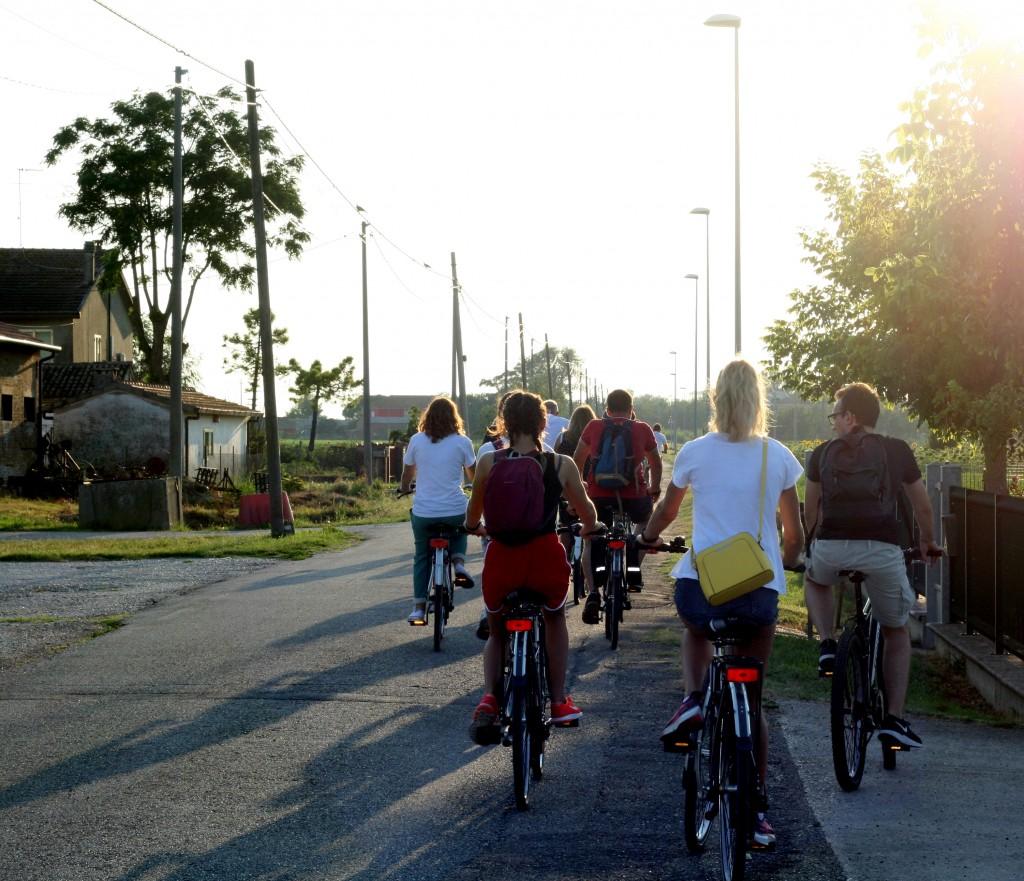 Ciclisti Partenza 1