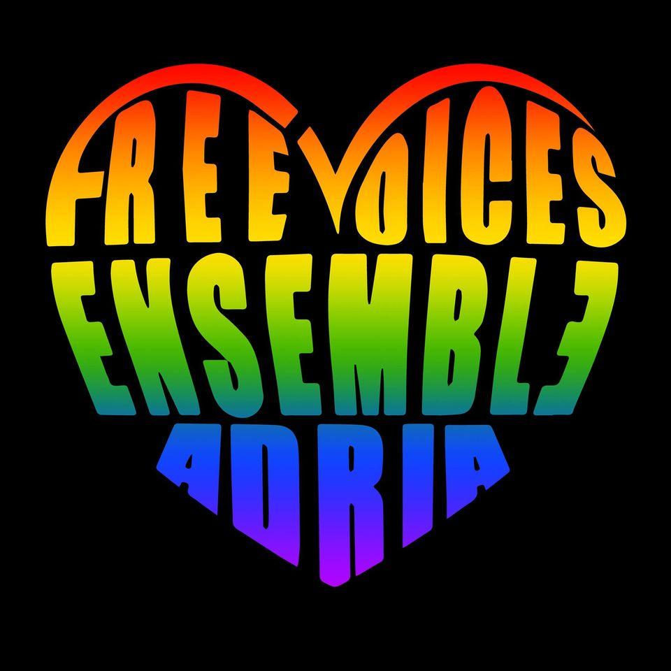 Free Voices Ensemble logo