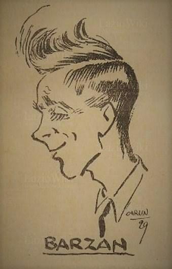 Gianangelo Barzan Caricatura