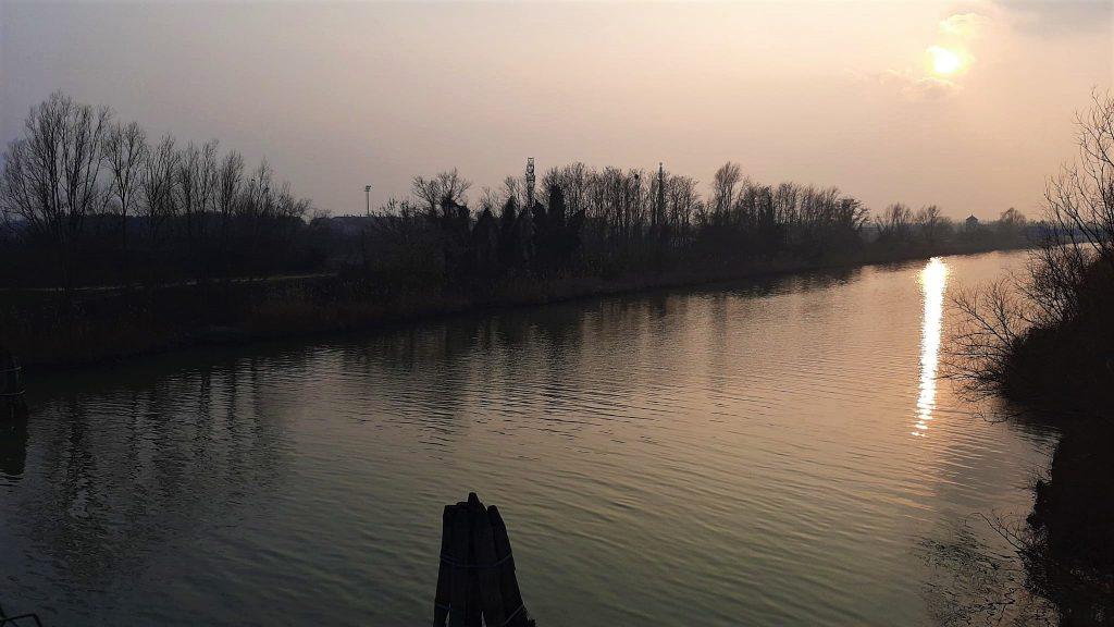 Canalbianco Tramonto 20 Febbraio 2021