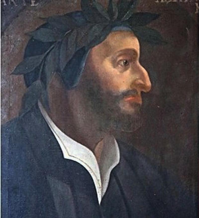 Ritratto Dante Orvieto Barbuto