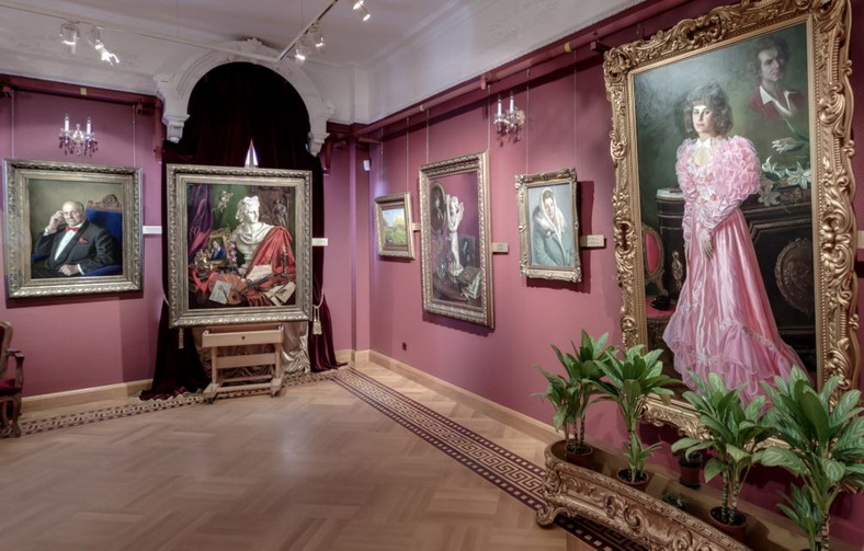 Galleria Shilov Interno