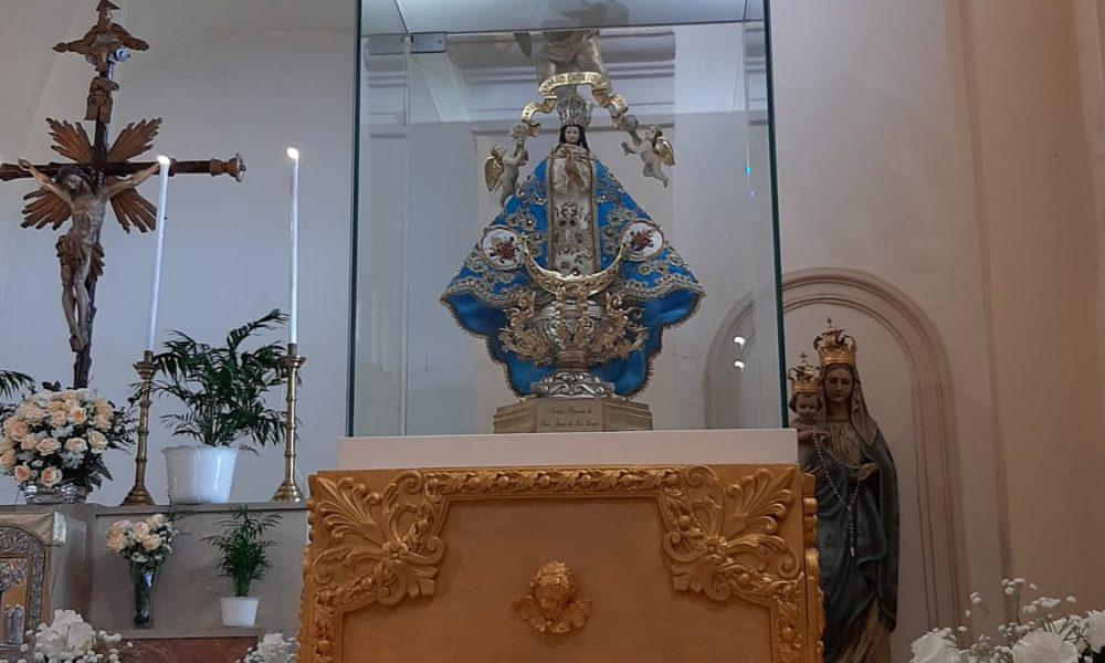 Virgin Di San Juan De Los Logos