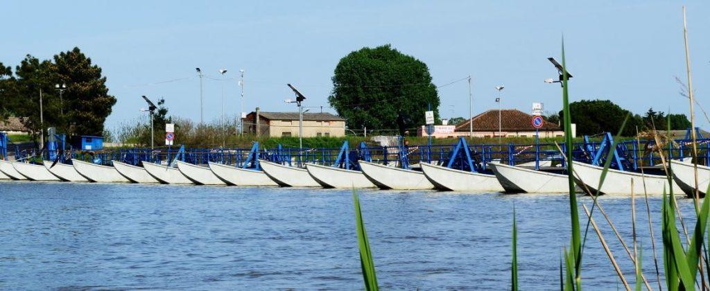 Delta del Po Ponti Barche Pano