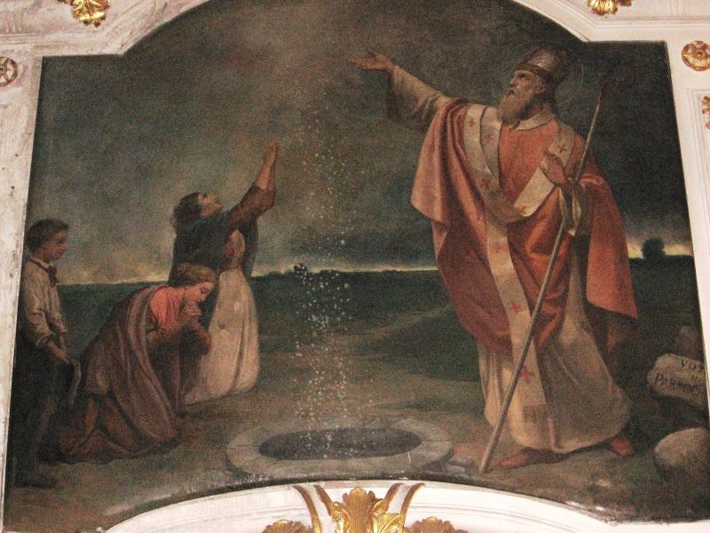 Cortemilia. San Michele. Il Miracolo Di San Grato Vescovo D'aosta (1)