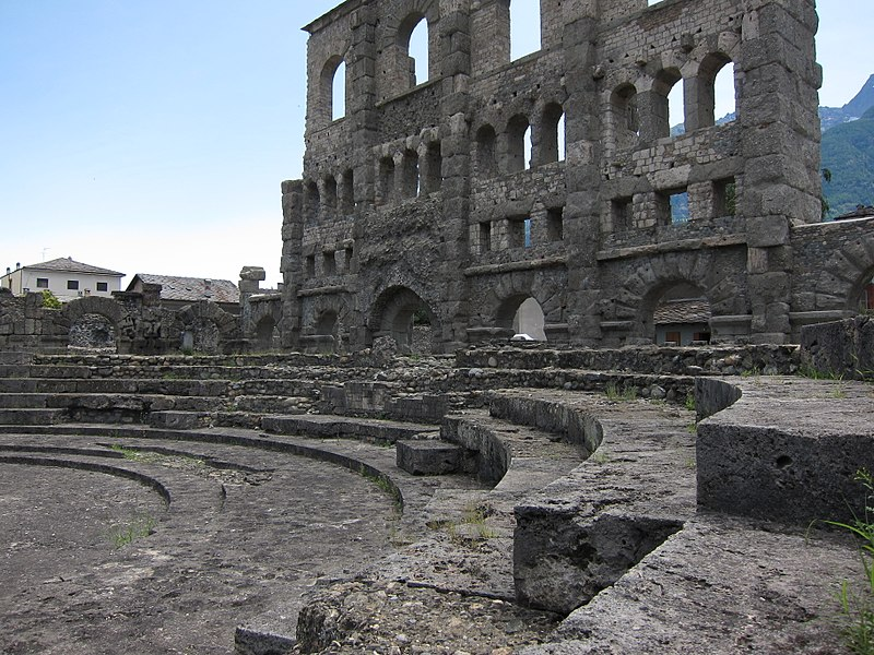 Teatro Romano Di Aosta Museo archeologico regionale della Valle d'Aosta