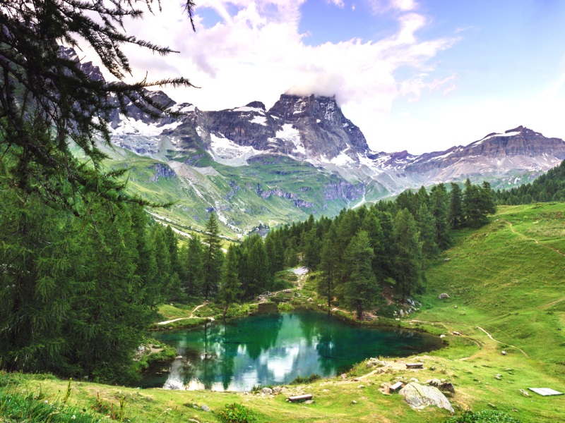 Lago Blu Aosta