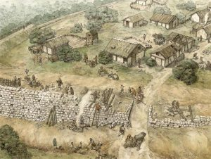 Thora - dipinto dell'epoca