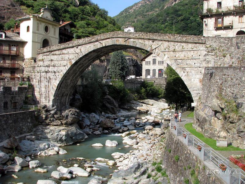 Foto del pont saint martin