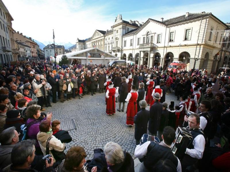 Fiera di Sant'Orso, balli e musica