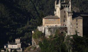 saint pierre - lato nord castello