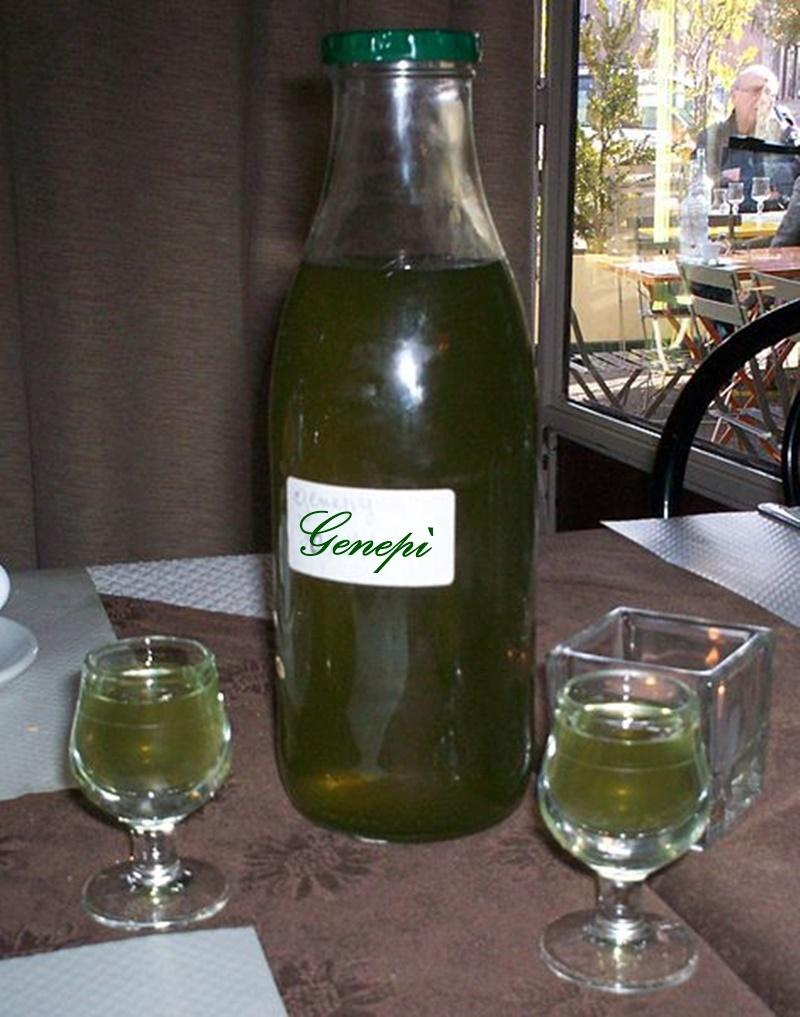 genepì - Bottiglia Di Genepi artigianale