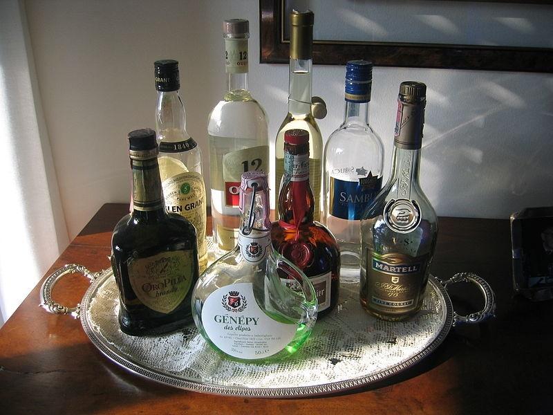vassoio Di Bottiglie