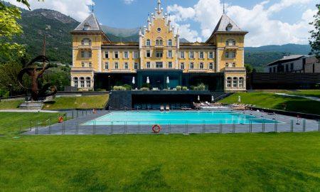Esterno del grand Hotel billia