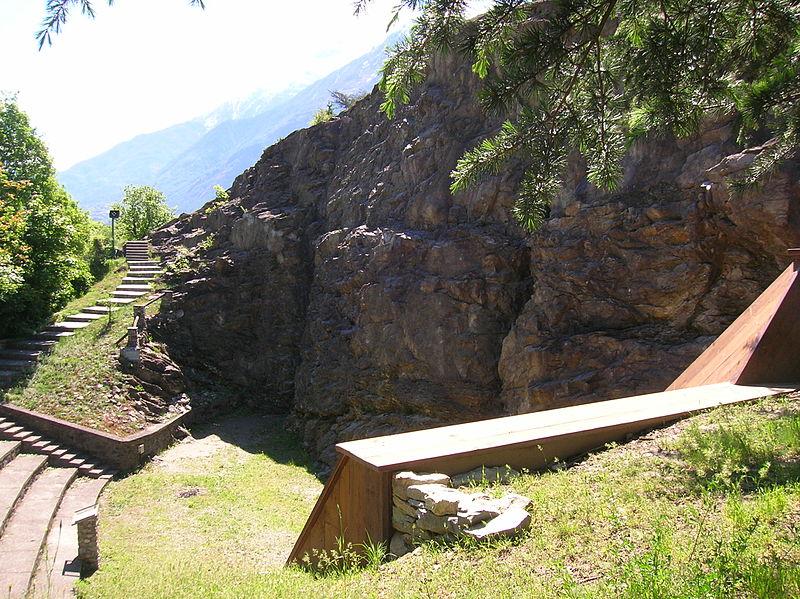 Il Rocciodromo Di Castello Jocteau