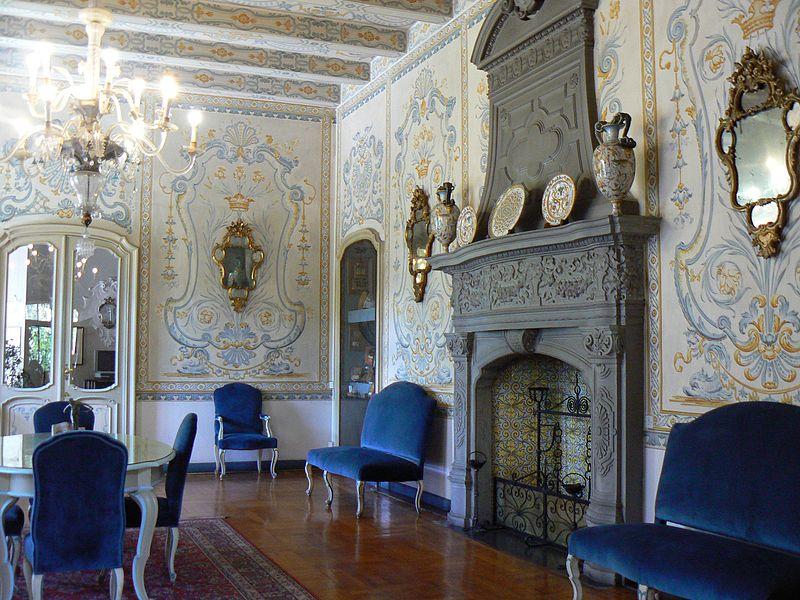 Salone Del Piano Terra Di Castello Jocteau