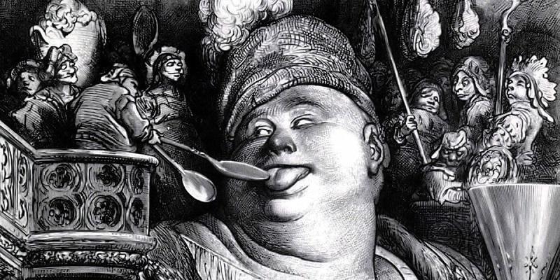 Dente del gigante - illustrazione di Gargantua