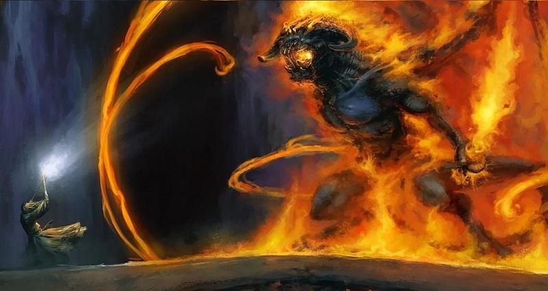 Il Mago rinchiuse gli spiriti maligni del Dente del Gigante