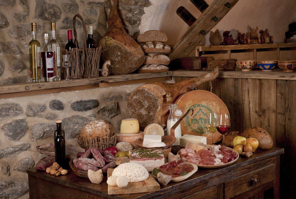 Prodotti Tipici locali da gustare in estate ad Aosta