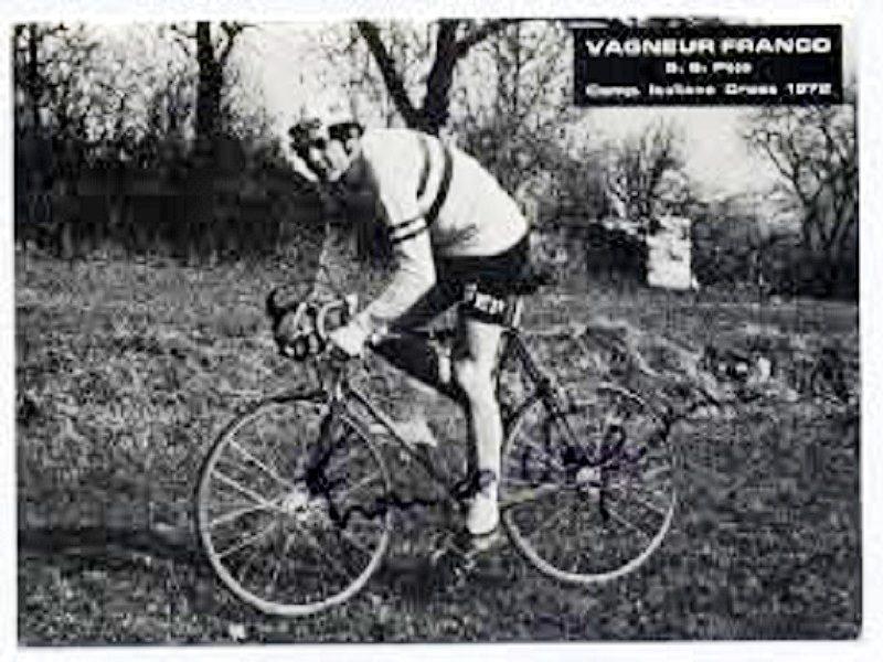 Franco Vagneur in bici