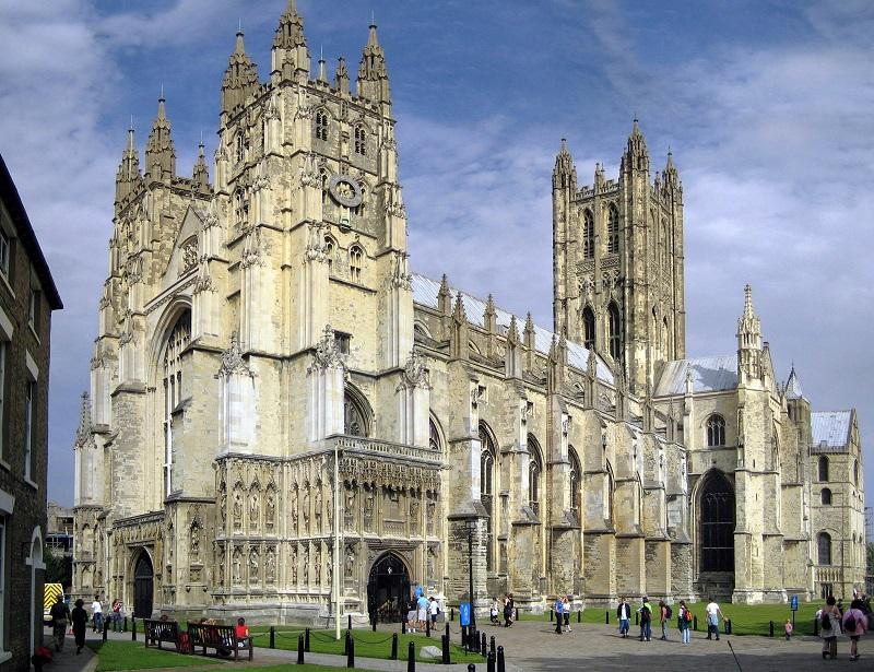 Anselmo D'Aosta fu a lungo vescovo della Cattedrale Di Canterbury
