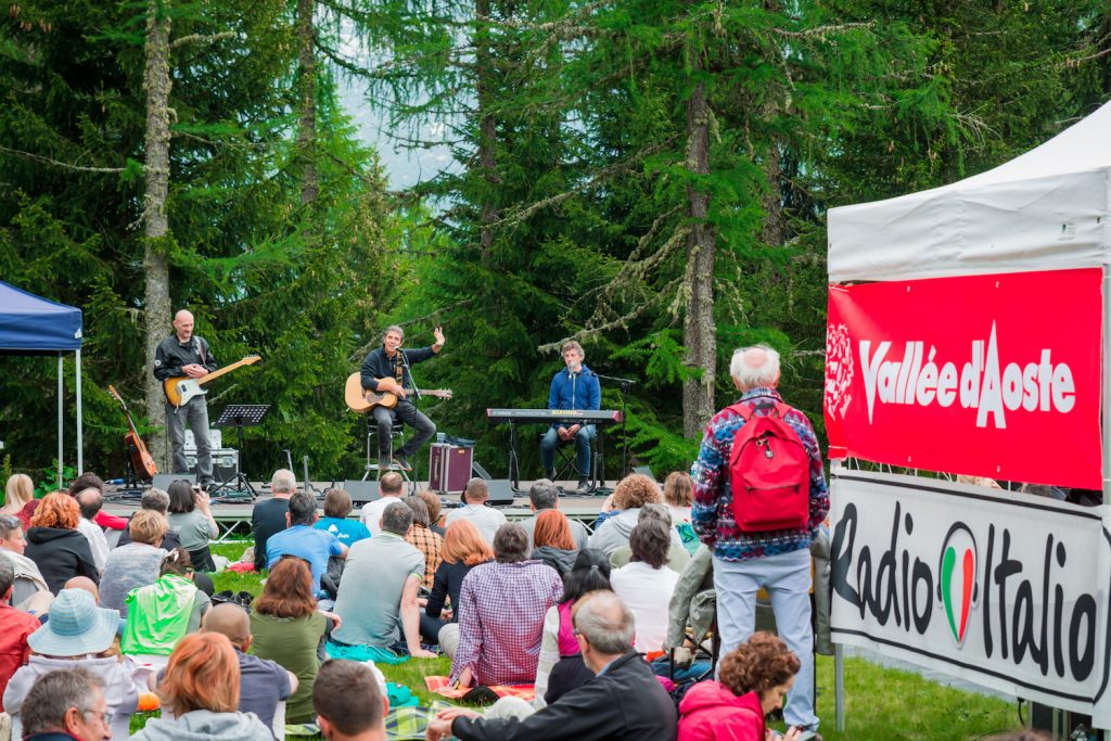 A Musicastelle Outdoor 2019 si esibisce Luca Barbarossarbarossa