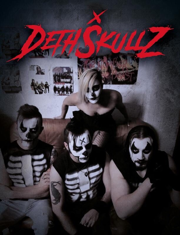 dethskuls band horror punk
