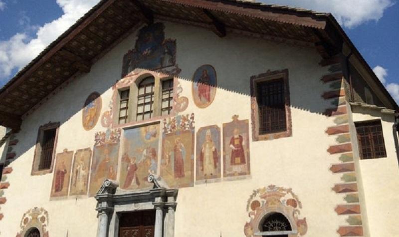 Affreschi Della Chiesa Di Santo Stefano