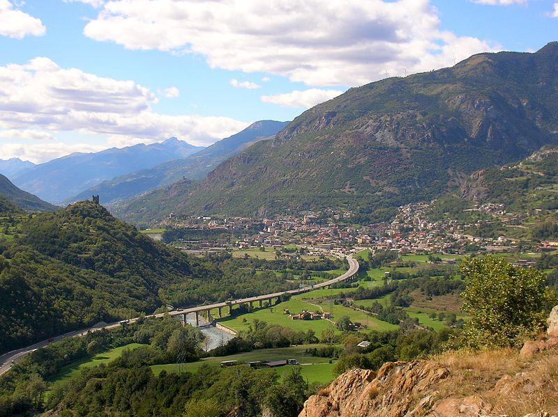 ottobre in Valle d'Aosta - Châtillon