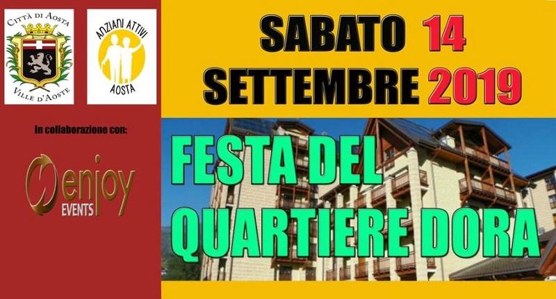 Manifesto della Festa Del Quartiere Dora